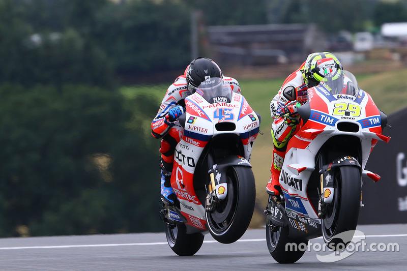 Andrea Iannone, Ducati Team e Scott Redding, Pramac Racing