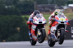 Andrea Iannone, Ducati Team e Scott Redding, Pramac Racing