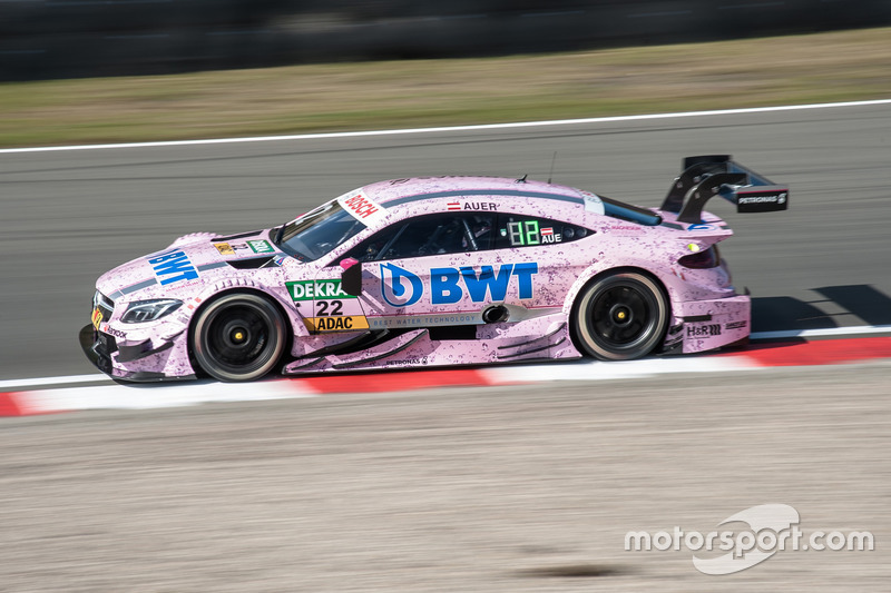 So fuhr Mücke Motorsport in der DTM 2016 ebenso in Pink wie ...