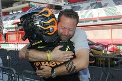 Giuliano Raucci, Diegi Motorsport celebra la victoria de carrera 2
