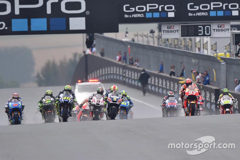 MotoGP Horarios del Gran Premio de Alemania de MotoGP