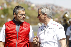 Dieter Gass, responsabile du DTM Audi Sport et Jens Marquardt, directeur BMW Motorsport