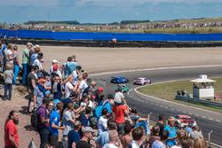 Fans in de duinen, Christian Vietoris, Mercedes-AMG Team Mücke, Mercedes-AMG C63 DTM, Gary Paffett, Mercedes-AMG Team ART, Mercedes-AMG C63 DTM, Edoardo Mortara, Audi Sport Team Abt Sportsline, Audi RS 5 DTM
