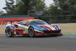 #51 AF Corse Ferrari 488 GTE: Gianmaria Bruni, James Calado