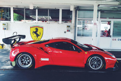 El Ferrari 488 de Alex Riberas en Fiorano