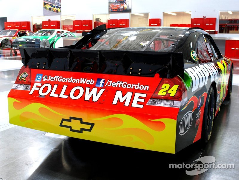 Jeff Gordon Follow Me Chevrolet