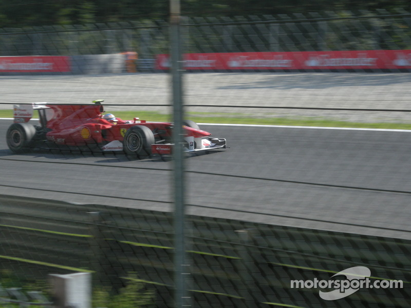 Fernando Alonso with Ferrari wins Italian GP
