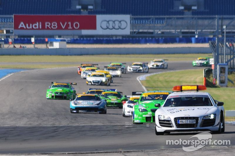 ADAC GT Masters Race 1 - The Pace-Car leading the field