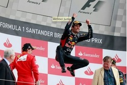 Webber's Silverstone Jump gets Photoshopped
