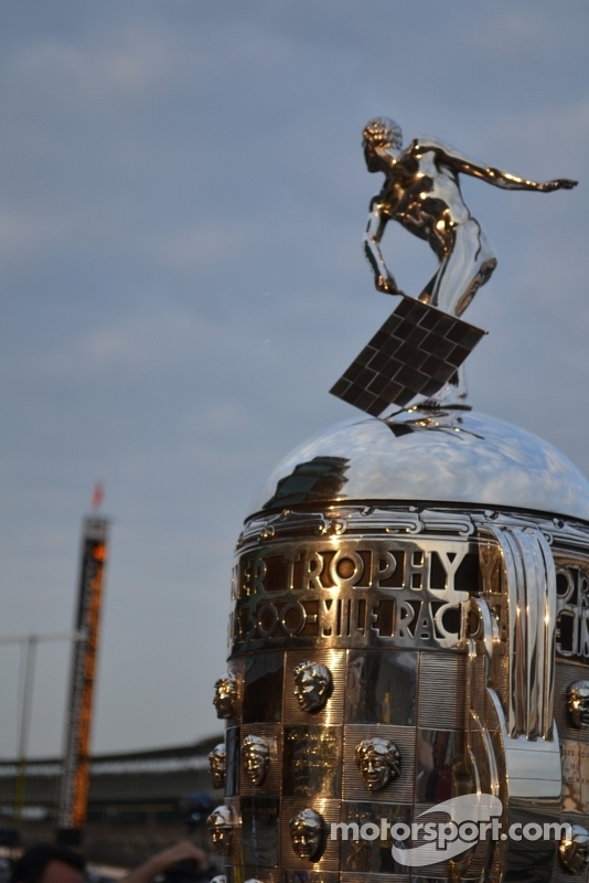 Borg-Warner at dawn - Indy 500