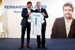 فرناندو ألونسو عضو فخري في ريال مدريد