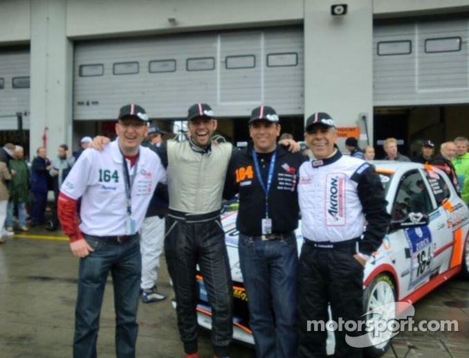 Mark Donaldson, Max Girardo, Xavier Lamadrid Jr. and Sr.