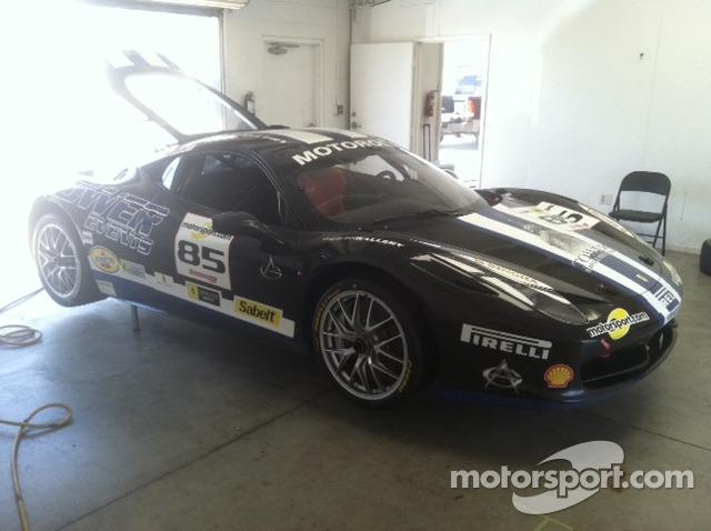 John Farano's Auto Gallery Motorsports supported 458 Italia GT