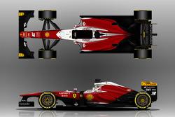 Ferrari F138 alternative livery