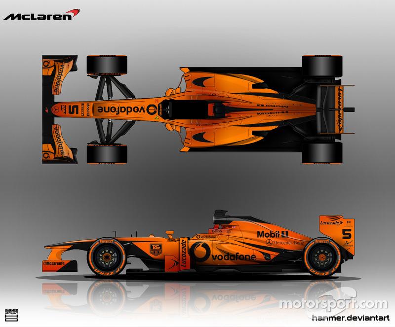 Alternative McLaren F1 livery