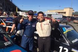 BTM Motorwerks Teammates Brad McClure & Michael Shawhan celebrate after their podium finishes.