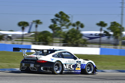 Porsche 997 GT3-R Driven by Rob Blake at Sebring International GT Race 1, March 3, 2018
