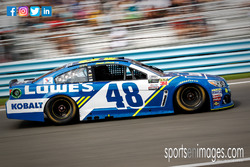 Jimmie Johnson speeding