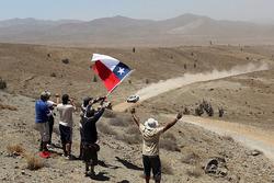 Fãs chilenos do Dakar