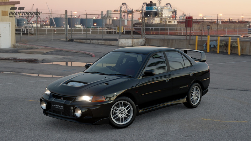 Mitsubishi Lancer Evolution IV GSR '96