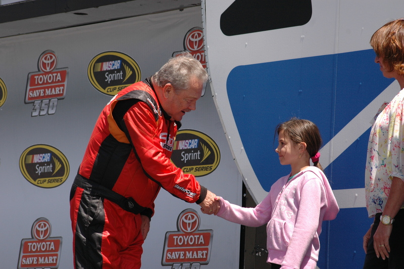 Jack Sellers meets the Sonoma Race Princess