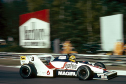 Ayrton Senna in his Toleman TG183B