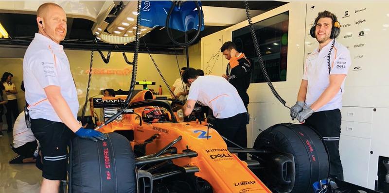 Механики McLaren