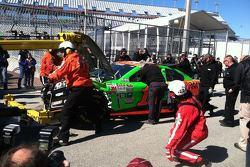 Danica Patrick - Daytona 500 practice crash