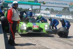 Damage to Krohn Racing Ligier
