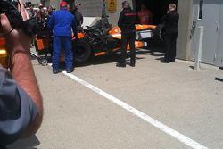 Simona de Silvestro #29 Andretti Autosport Honda
