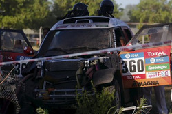 Accidente Dakar #360