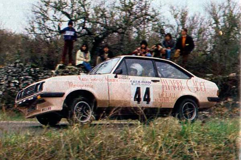Дидье Ориоль и Жан-Ив Тисьо, Ралли Ronde du Quercy 1982 года, Ford Escort RS 2000