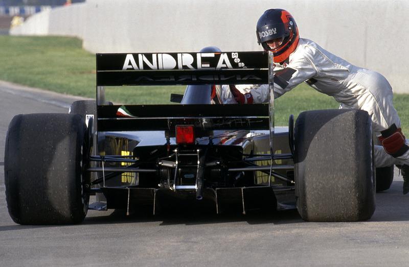 Перри МакКарти, Andrea Moda S921, Гран При Испании 1992