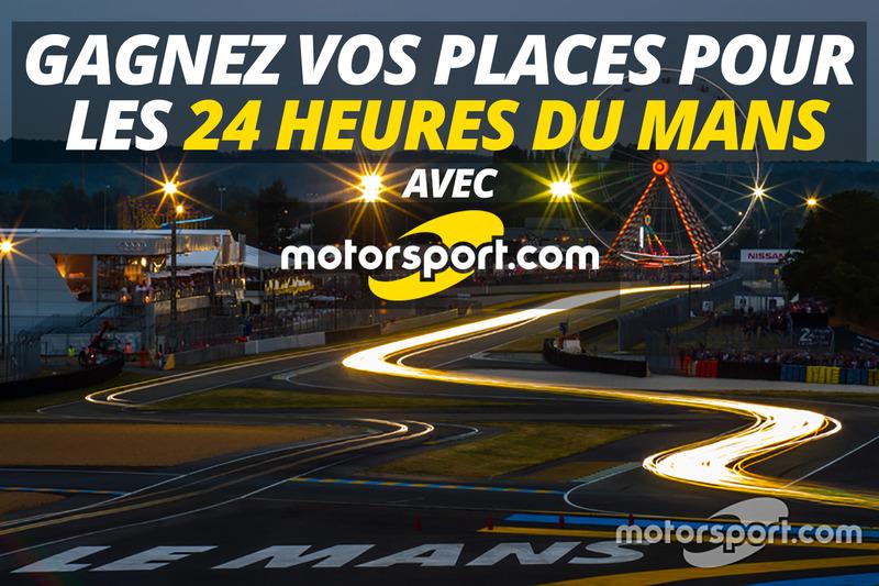 Remportez votre place pour les 24 Heures du Mans 2016!