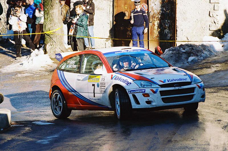 Колин МакРей и Ники Грист, Ford Focus RS WRC`99, Ралли Монте-Карло 1999 года