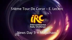 IRC Rally Corsica - Day 3