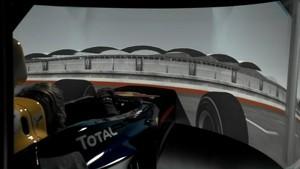 Formula 1 2011 - Track Simulation Spa - Sebastian Vettel