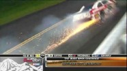 Edwards Pits, Blaney Crashes