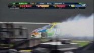 Kyle Busch Spins Again