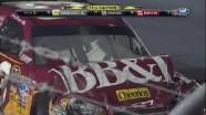 Crash With Three Wide - Darlington Raceway 2011