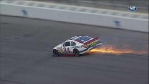 Gilliland Has Hard Hit - Texas Motor Speedway 2011