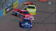 Bayne Hits The Wall - Phoenix International Raceway 2011