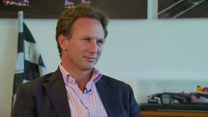 Formula 1 2011 - Red Bull Racing - Post-Race Interview Italian Grand Prix - Christian Horner