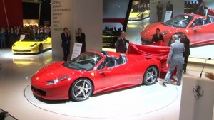 Ferrari 458 Spider debuts at Frankfurt