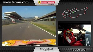 On board Ferrari 458 Challenge: Lorenzo Bontempelli in Mugello