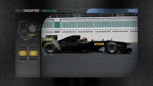 2011 Formula 1 Singapore GP - 3D Simulation