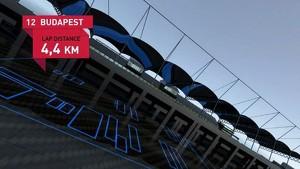 Formula 1 2010 - Track Simulation Budapest - Mark Webber