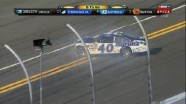 Waltrip Crashes With 8 To Go - Gatorade Duel 1 - Daytona - 02/23/2012