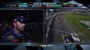 Jimmie Johnson Post Wreck Interview - Daytona 500 - Daytona - 02/27/2012