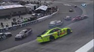 Wreck On Lap 24 - Food City 500 - Bristol - 2012